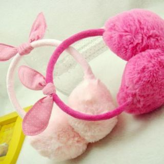 Women's Winter Earmuffs Earwarmers Ear Muffs Earlap Warmer Headband Cute Rabbit