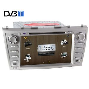 "8"" Car DVD Player Audio Head Unit GPS Navi Navigation for Toyota Camry 2007 2011"