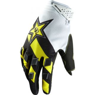 Fox Racing Dirtpaw Rockstar Motorcycle Gloves