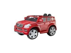Kids Battery Powered Ride on Toy Red Mercedes Benz GL SUV Car 6V