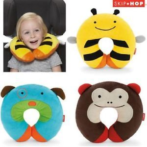 Baby Kid Children's Skip Hop Car Seat Travel U Neck Soft Plush Pillow Toy