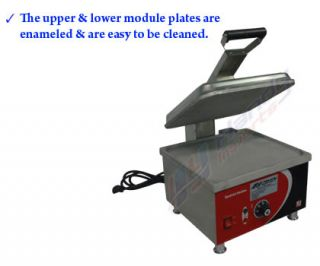 Commercial Sandwich Press Grill Toast Griddle Toaster