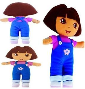 Dora The Explorer Kids Girls Soft Cuddly Stuffed Plush Toy Doll