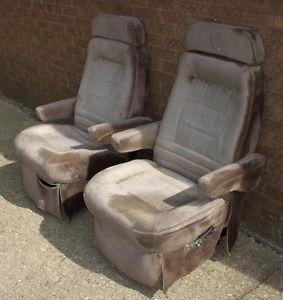 1996 Ford Econoline Van RoadStar Tuscany Motor Coach Captain's Chair Power Seat