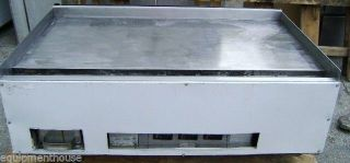 "Imperial 48"" Nat Gas Griddle Flat Grill Used Commercial Restaurant Equipment"