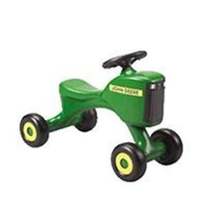 John Deere Toy Tot Kids Ride on Plastic Tractor New WOW