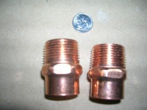 Half inch Copper Pipe Fittings Connectors