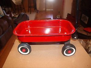 Little Red Wagon Kids Pull Along Toy Toys