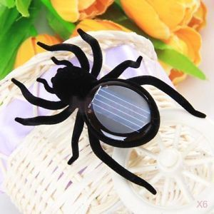 6X Sunlight Solar Power Spider Insect Bug Kids Gift Educational Creative Toy