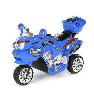 Lil' Rider Battery Powered Bike Motorcycle Kids Ride Toy 3 Wheel Electric Motor