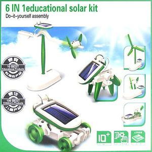 6in1 Educational DIY Assemble Kit Toy Solar Power Teach Children Education Study