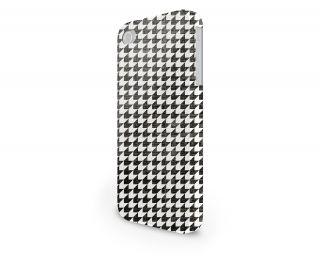 Houndstooth Hard Cover Case for iPhone Samsung 65 Other Phones