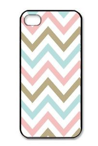 New Retro Chevron Hard Back Side Case Cover Snap on Slim Fit for iPhone 4 4S