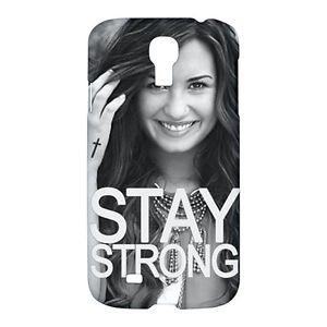Demi Lovato Case for Samsung Galaxy S4 s 4 I9500 Hard Cases Cover Side and Back