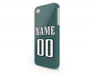 NFL Philadelphia Eagles Personalized Hard Cover Case for iPhone 65 Others