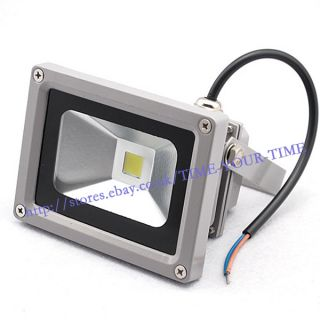 10W DC 12V 800LM High Power Pure White LED Wash Flood Light Waterproof Outdoor