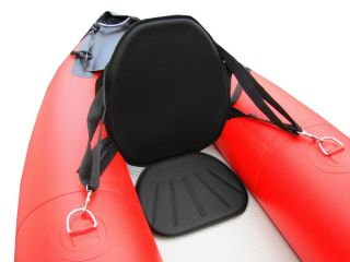 Deluxe Kayak Seat with High Back Support Kayaking Seat