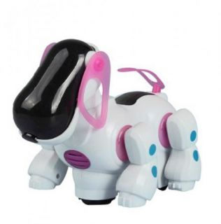 New Robotic Cute Electronic Walking Pet Dog Puppy Kids Toy with Music Light
