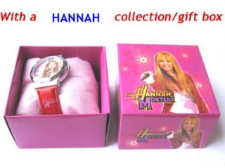 Free SHIP Disney Hannah Montana Children Wrist Watch Kids Gift Girl M24