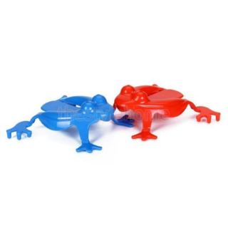 Cute Plastic Jumping Frog Play Toy Kids Fun Party Favor