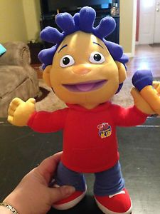"Talking Sid The Science Kid 13"" Plush Toy Doll Jim Henson New Without Box"