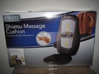Homedics Shiatsu Massage Chair Massaging Cushion MCS 100 New