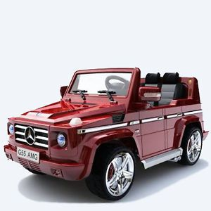 Licensed Mercedes Ride on Car Toy Electric Kids Power Wheels Remote G 55 2014