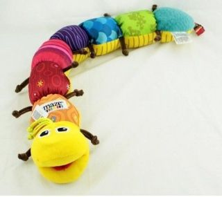 1pcs Baby Infant Kids Lamaze Musical Inchworm Soft Developmental Lovely Baby Toy