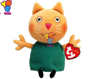 Ty Beanie Babies Peppa Pig Candy Cat Plush Toys Doll 4 Kids Large