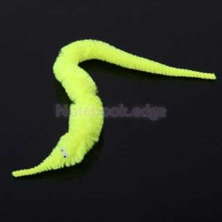12pcs 6 Colors Magic Wiggly Twisty Fuzzy Worm Carnival Party Fun Kids Cat Toy