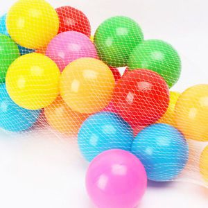 25x Colorful Ball Fun Soft Plastic Ocean Ball Baby Kid Toys Tent Swim Pit Toy