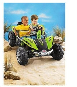 Fisher Price Power Wheels Kids Dune Racer 12volt Battery Powered Ride on Kid Toy