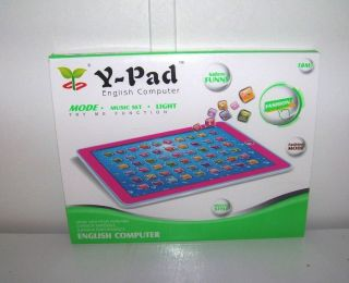 Ypad for Kids Children Learning English Educational Computer Tablet Toy