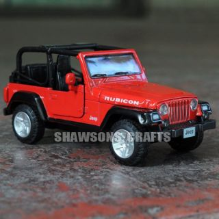 Diecast Metal 1 32 Sound Light Pull Back Jeep Wrangler Rubicon Car Model