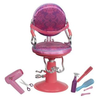 Our Generation Hair Salon Chair Accessories Fits 18 inch Doll Like AG