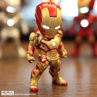 Kidslogic Marvel Iron Man LED 6 Pcs Earphone Plug Set for iPhone Galaxy New