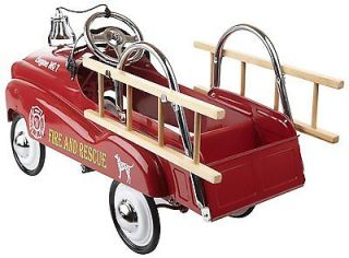 Little Tikes Toys in Step Fire Truck Kids Pedal Car Ride on Car Christmas Gift