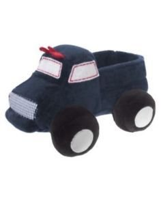 Gymboree Navy Monster Truck Plush Toy NWT NWOT