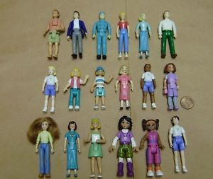 18 Fisher Price Sweet Streets People Girls Women Men Boy Dad Mom Kids Figures