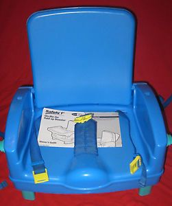 Safety 1st on The Go Fold Up Booster Seat Chair