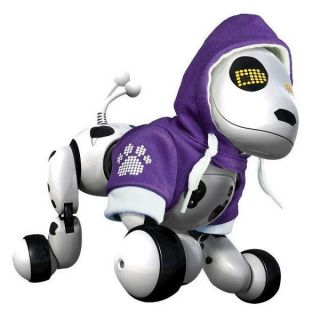 Zoomer Robot Dog Puppy w Hoodie Robotic Interactive Pet Electronic Toy