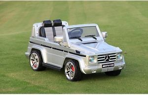 Mercedes G55 Licensed Ride on Car Remote Control Power Wheels 12V Battery Red