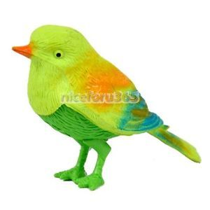 N4U8 New Cute Sound Voice Activate Sing Singing Natural Bird Baby Kids Toy Hot
