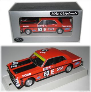 Ford XW Gtho Falcon Bathurst Trax TR34C 1 43 Scale Diecast Model Car Used