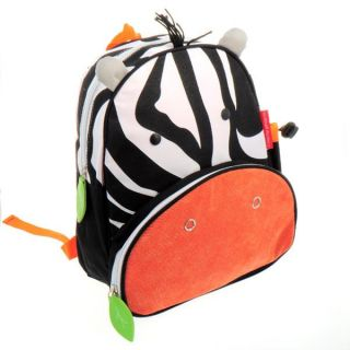 Kids Boy Girl's Backpack Zoo Animal Shoulder Bag Book School Bag Zebra Bookbag