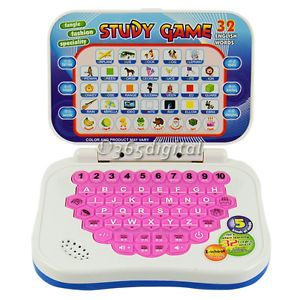 1 Pcs Baby Kids Toys Study Game Intellectual Learning Song Mini PC 35DI Machine