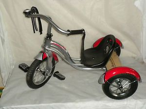 Schwinn Trike Kids Bicycles 3 Wheel Trikes Childrens Tricycle Red Silver