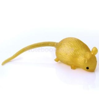 5X Squishy Rat Animal Mouse Novelty Halloween Trick Toy