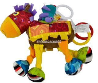 Pram Cot Pony Horse Shake Sounds Baby Kids Colorful Early Development Toy FV88