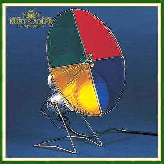 Kurt Adler Christmas Nostalgic Revolving Color Wheel